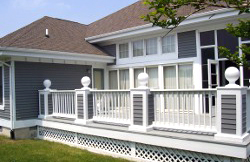 Porch Patios fencing in Sussex County